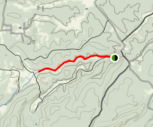 Priest Draw Trail Map
