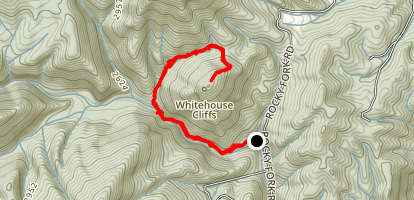 Whitehouse Cliffs Map