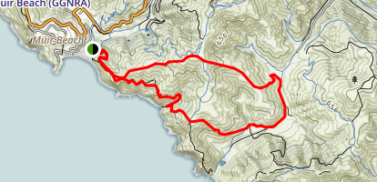 Coastal and Fox Trails Loop Map