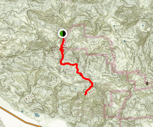 Gunsight Rock and Mount Hood Trail [CLOSED] Map