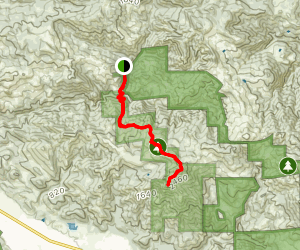 Gunsight Rock and Mount Hood Trail Map