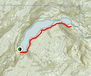 Hell Hole Trail Map