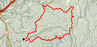 Chamisoso and Coyote Trails Map
