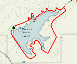 Rancho Seco Lake Map