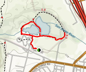 Kumeyaay Lake Trail Map