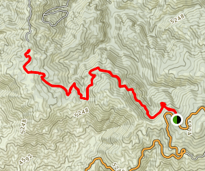 Stack Rock Trail Map