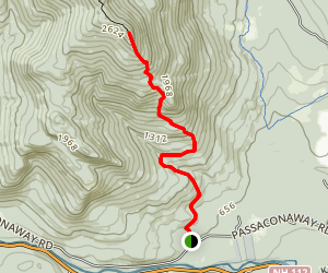 South Moat Mountain Trail Map