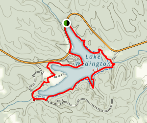 Wedington Hiking Trail Map