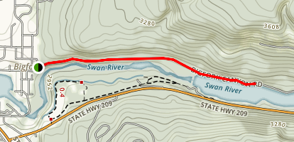 Swan River Trail Map