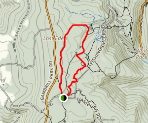 Buck Flats and Catoctin National Recreation Trail Loop Map