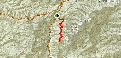 Stoddard Peak Trail Map