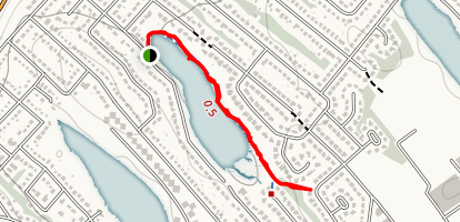 Oat Hill Lake Trail  Map