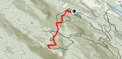 Mount Benson Map