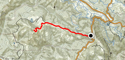 Mindego Hill Map