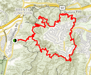 Bark Park Trail and New Millenium Loop Trail  Map