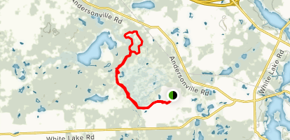 Hike-bike Trail Map