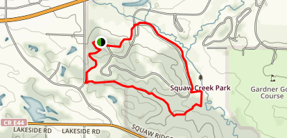 Squaw Creek Loop Trail Map
