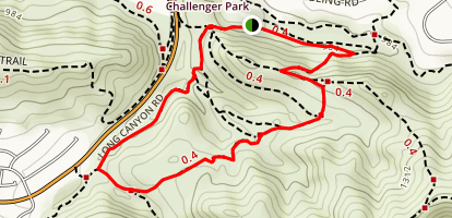Challenger Park Extended Loop Map