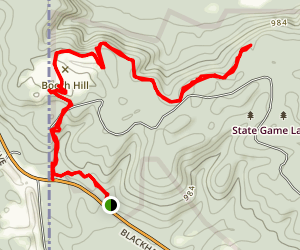 North County Trail: Wampum Chapter  Map