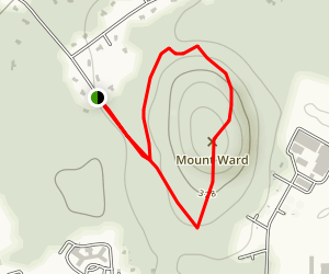 Mount Ward Trail Map