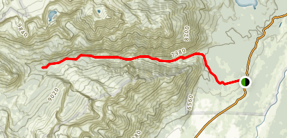 Granite Canyon Trail Map