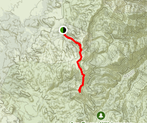 Arc Dome Trail Map