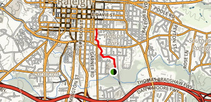 Little Rock Creek Trail Map