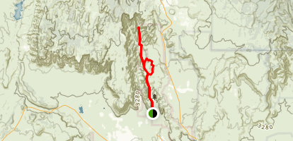 Snow Canyon Loop  Map