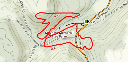 Magness Tree Farm Map