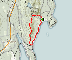 Gorham Mountain and Ocean Trail Loop Map