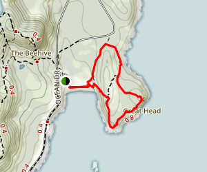 Great Head Longer Loop Map