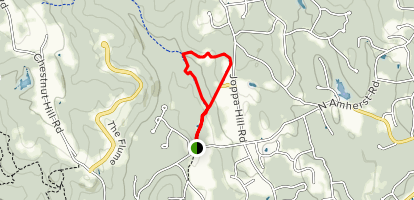 Pulpit Brook and Joppa Hill Farms Loop Trail Map