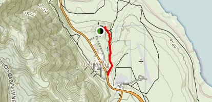 Lee Vining Creek Trail Map