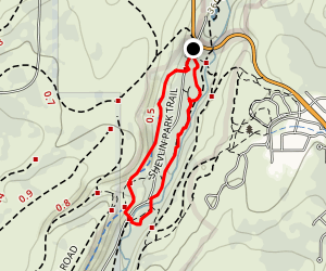 Shevin Park Trail and Tumalo Creek Loop Map