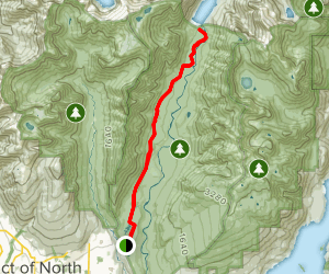 Seymour Valley Trail Map