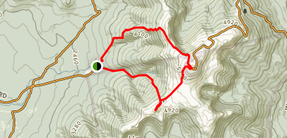 Mount Washington and Monroe via Ammonoosuc Ravine Trail Map