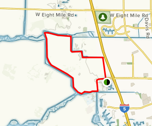 White Slough Long Loop [PRIVATE PROPERTY] Map