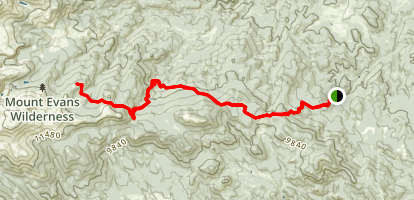 Cub Creek Trail Map