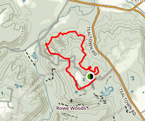 Fernwood Trail Loop Map