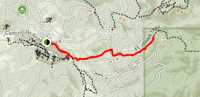 St. John's Trail Map