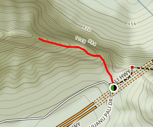 Pali Puka Trail Map