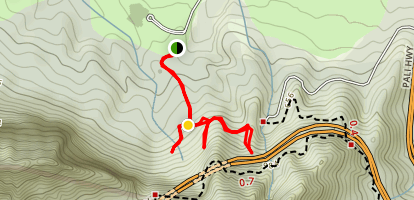 Likeke Falls Trail Map