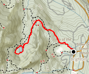 Lake Solitude Trail Map
