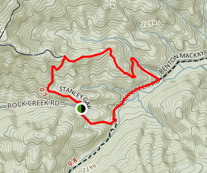 Stanley Creek Loop Trail Map