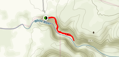 White River Falls Map