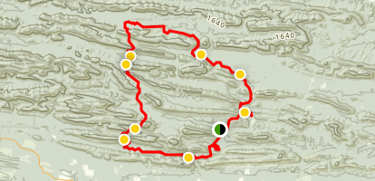 Eagle Rock Loop Map