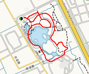 Minhang Sports Park Loop Map
