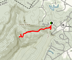 Bridal Veil Falls Trail Map