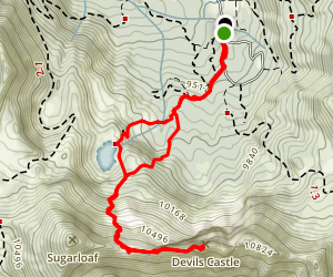 Devils Castle Map