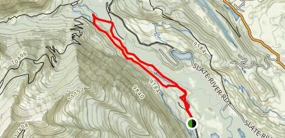Crested Butte Upper and Lower Loop Map